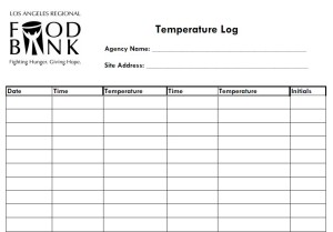 Temperature Log