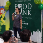 Speaker at the Food Bank's studio day 2018