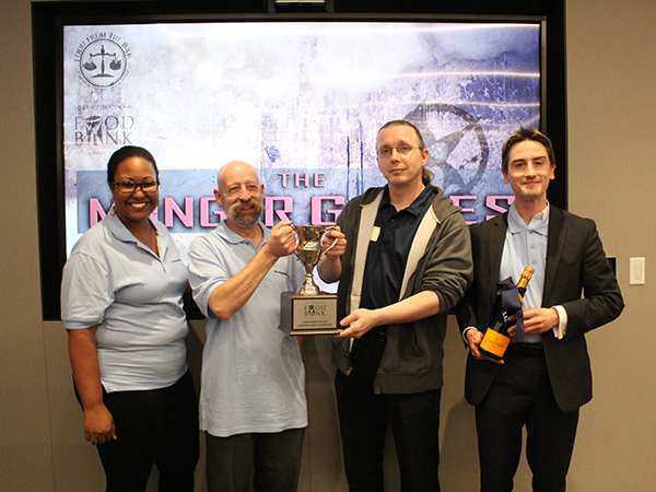 Munger Games 2019 Champions holding trophy