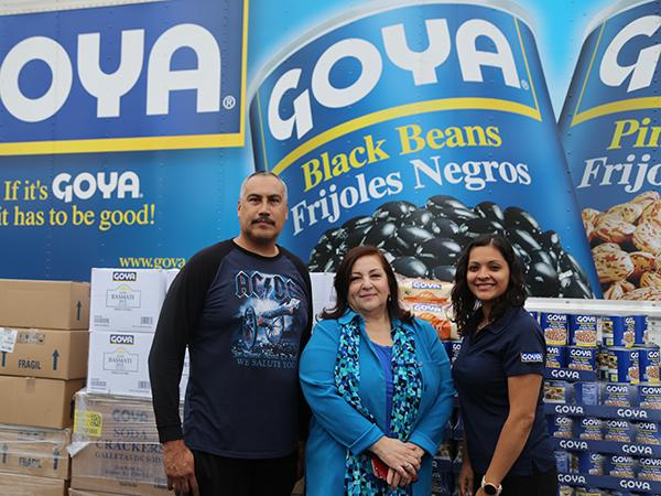 Goya donation