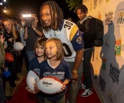 Todd Gurley II at Taste of the Rams