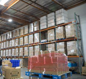 Food Bank warehouse