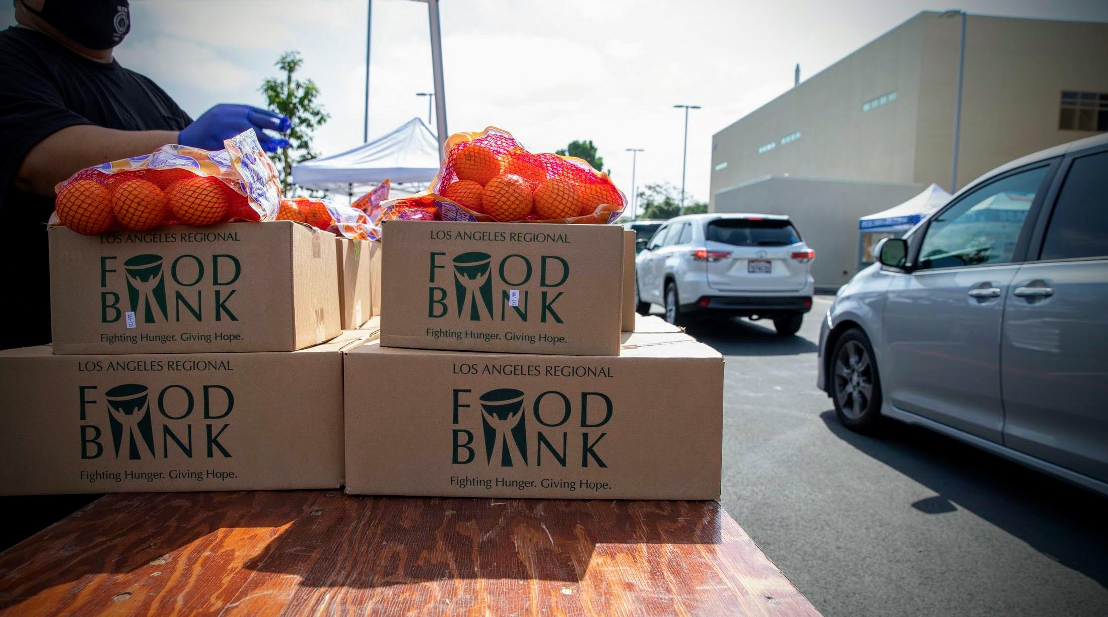 Long Beach City College Free Food Distribution: 10/29/21
