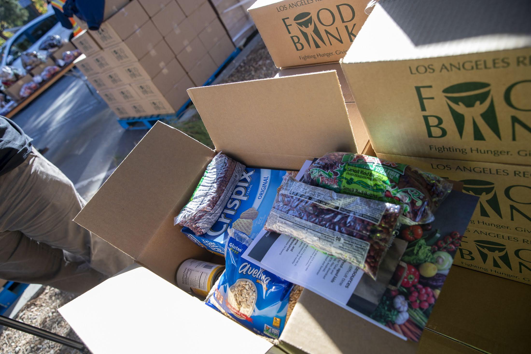 Rosemead High School Free Food Distribution