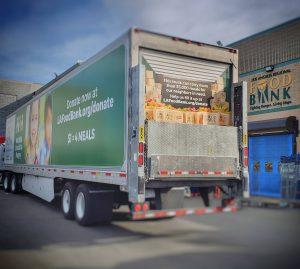 Truck at LA Regional Food Bank