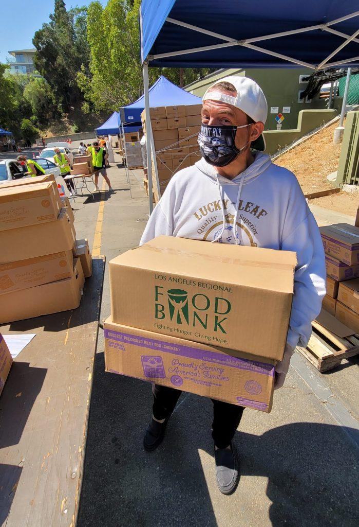 Kevin Smith LA Regional Food Bank