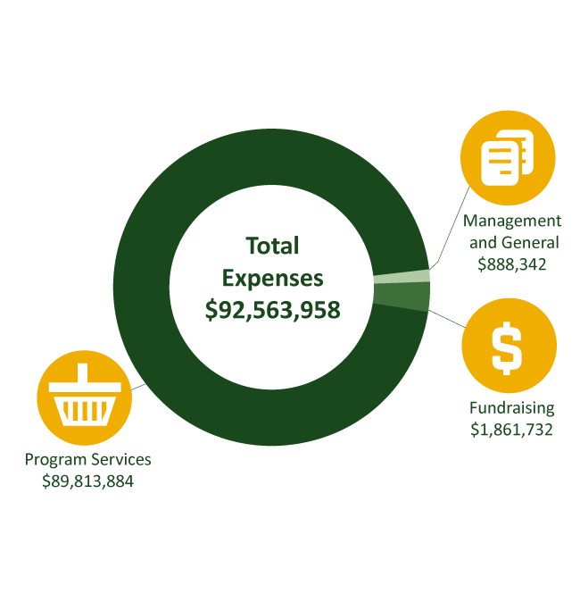 financials infographic total expenses