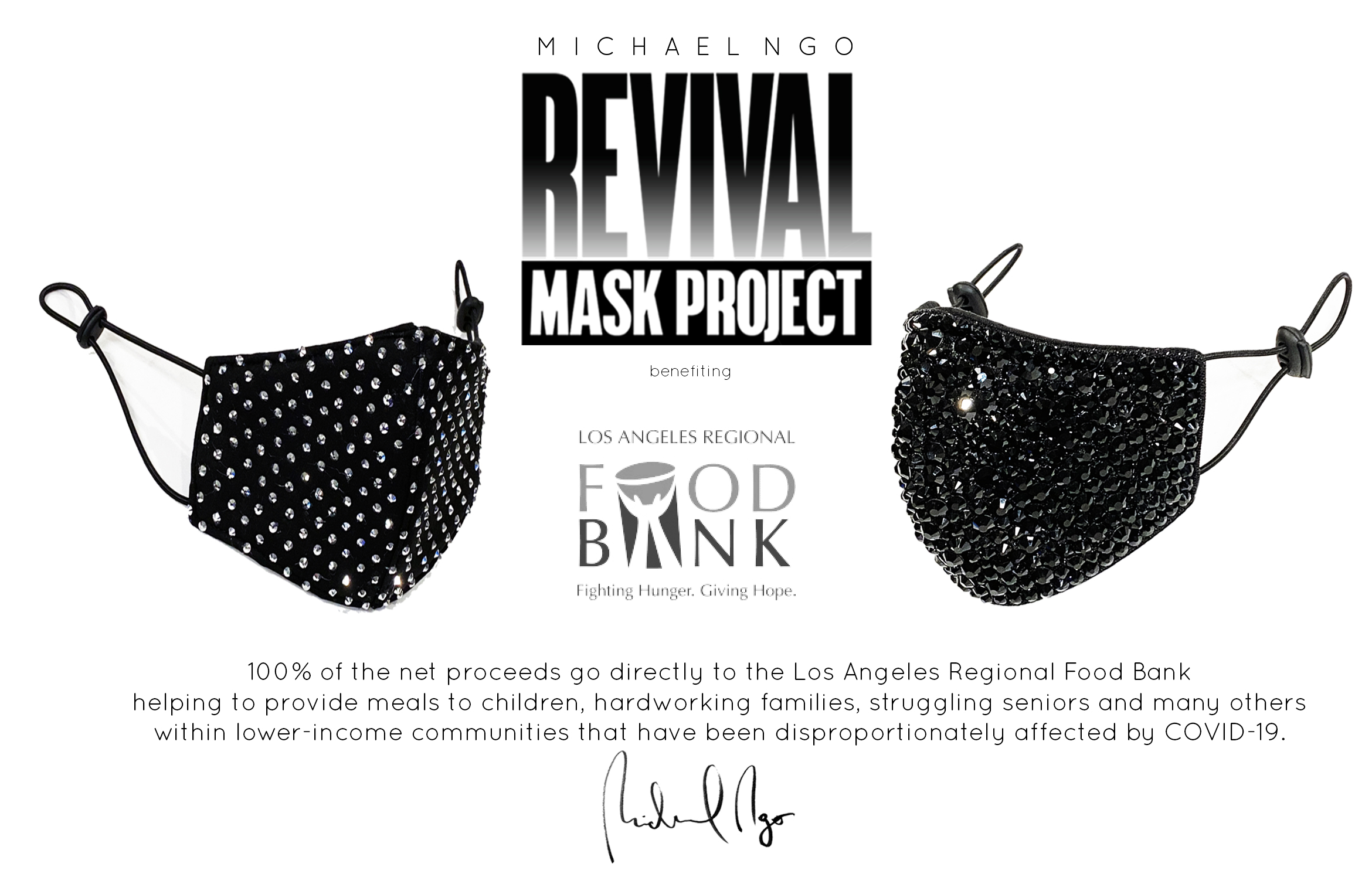 La Fashion Designer Michael Ngo Fundraises 29 500 During Pandemic Los Angeles Regional Food Bank