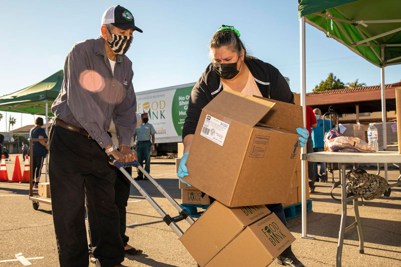 Church of Christ Free Food Distribution: 10/20/21