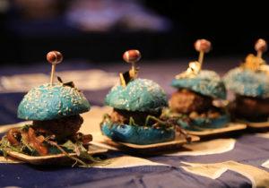 Taste of the rams minin burgers