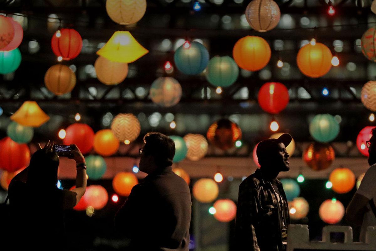 LA Food Bowl night market